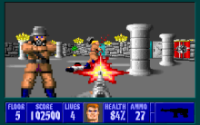 Early FPS - Wolfenstein 3D